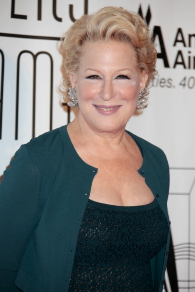 Bette Midler at Bette Midler, Constantine Maroulis, Cheyenne Jackson et al. at Songwriters Hall of Fame 2012 Gala