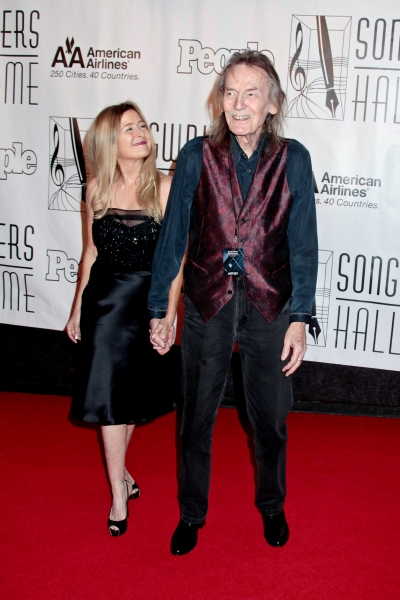 Gordon Lightfoot and fiancée Kim