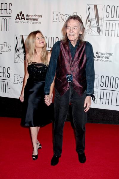 Gordon Lightfoot and fiancée Kim