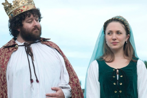 Photo Flash: First Look at GreenStage's HENRY VIII