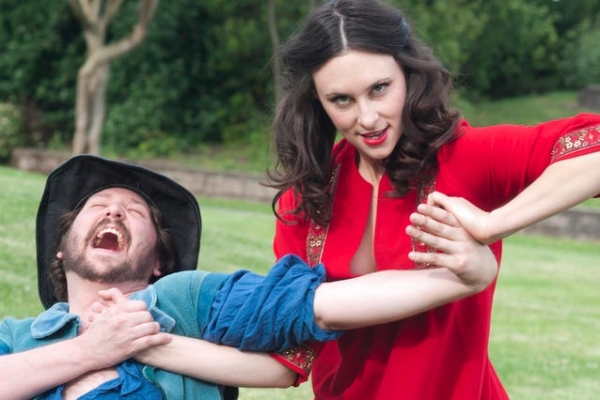 Photo Flash: First Look at GreenStage's TAMING OF THE SHREW