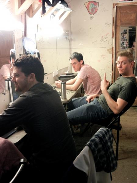 Jordan Ravellette (Henry), Ben Van Diepen (Dr. Fine/Madden), Mike Baum (Dan) Photo