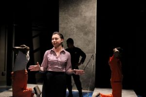 BWW Reviews: JESUS HOPPED THE A TRAIN from Azeotrope