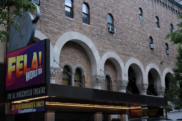Photo Coverage: FELA! - Up on the Marquee!