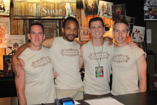 Mark Robinson, James Harkness, Peter Borzotta and Tim Burke Photo