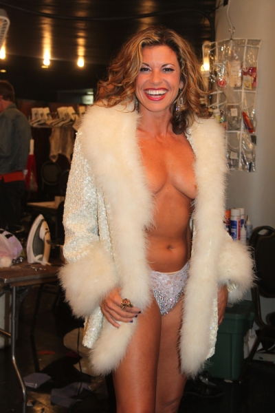 Rachelle  Rak at Backstage at BROADWAY BARES XXII - 'Happy Endings' Galore!