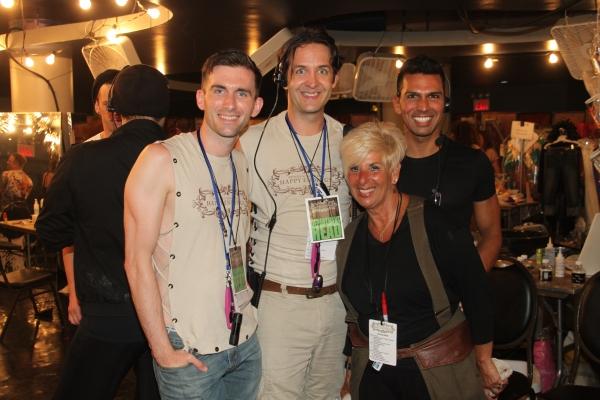 Matthew Kilgore, Craig Lowery, Barbara Berman and Darryl Nipps Photo