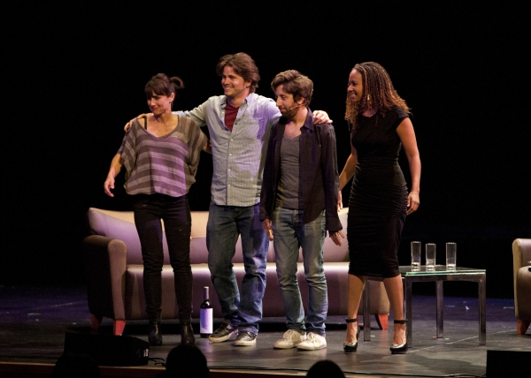 Constance Zimmer, Jason Ritter, Simon Helberg and Tracie Thoms 