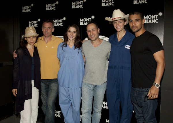 Director Gail Mancuso, David Eigenberg, Ashley Greene, Saverio Guerra, Brooklyn Decke Photo