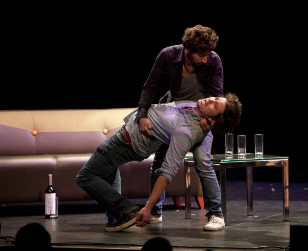Jason Ritter and Simon Helberg 