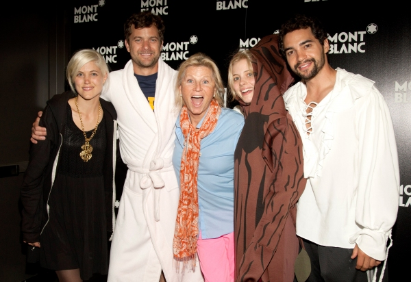 Charity Wakefield, Joshua Jackson, Gillian Jacobs, director Leigh Kilton Smith and R Photo