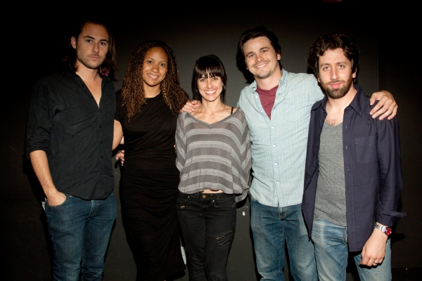 Lee Toland Kreiger, Tracie Thoms, Constance Zimmer, Jason Ritter and Simon Helberg 