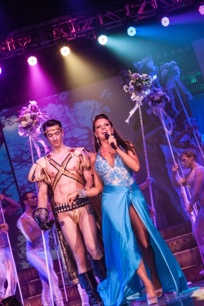 John Carroll and Rachel Potter at BROADWAY BARES XXII: Happy Endings Uncensored Highlights- Event Raises $1,254,176