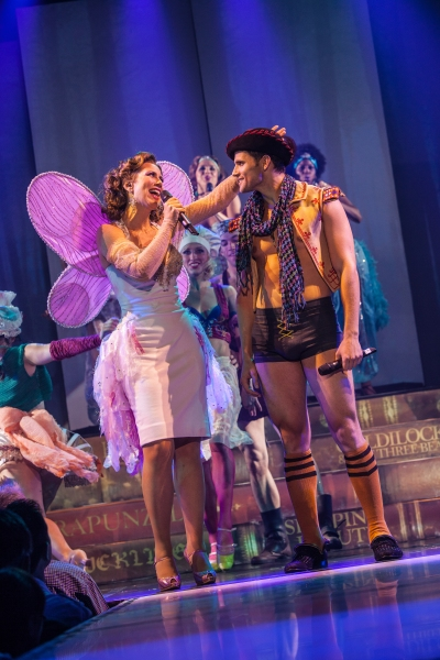 Miriam Shor and Kyle Dean Massey at BROADWAY BARES XXII: Happy Endings Uncensored Highlights- Event Raises $1,254,176