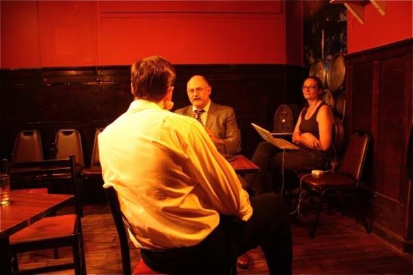 Kohl Sudduth, Peter Hirsch, and Addie Johnson-Talbott
