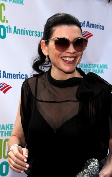 Julianna Margulies at The Public Theater Celebrates 50 Years at the Delacorte & Honors Al Pacino