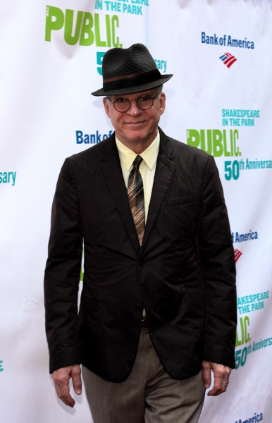 Steve Martin at The Public Theater Celebrates 50 Years at the Delacorte & Honors Al Pacino