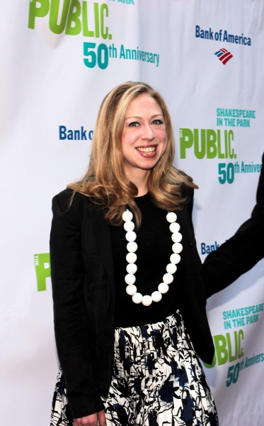 Photo Coverage: The Public Theater Celebrates 50 Years at the Delacorte & Honors Al Pacino