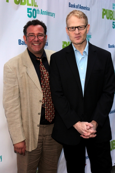 Michael Greif, Jonathan Fried at The Public Theater Celebrates 50 Years at the Delacorte & Honors Al Pacino