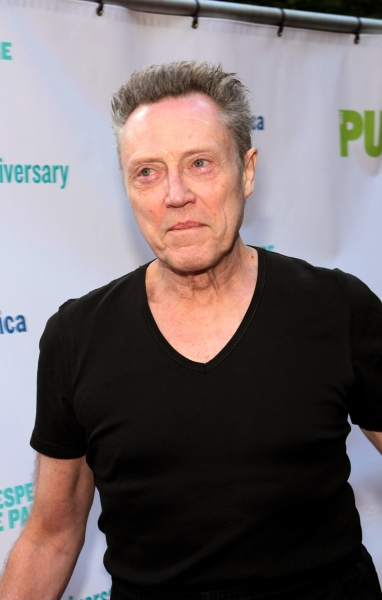 Christopher Walken at The Public Theater Celebrates 50 Years at the Delacorte & Honors Al Pacino