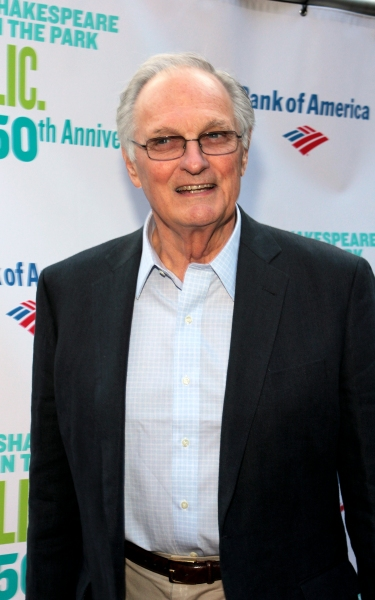 Alan Alda at The Public Theater Celebrates 50 Years at the Delacorte & Honors Al Pacino