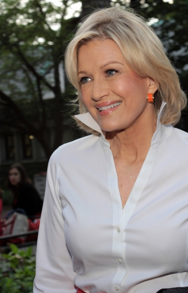Diane Sawyer at The Public Theater Celebrates 50 Years at the Delacorte & Honors Al Pacino