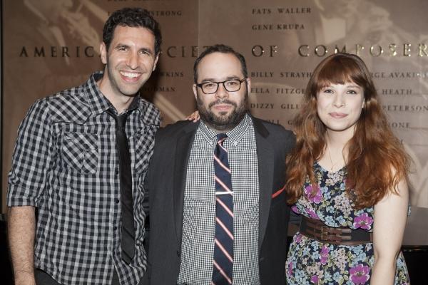 David Perlman, Matt Schatz and Lauren Marcus