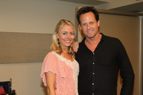 Amy Rutberg and Dean Winters
