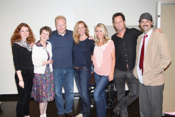 Alexandra Cohen-Speigler, Audrie Neenan, Adam Mucci, Kimberly Quinn, Amy Rutberg, Dean Winters and James Wirt at First Look at LET'S KILL GRANDMA THIS CHRISTMAS Reading!