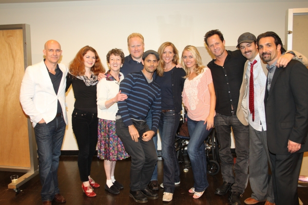 John Dapolito, Alexandra Cohen-Speigler, Audrie Neenan, Adam Mucci, Brian Gianci, Kimberly Quinn, Amy Rutberg, Dean Winters, James Wirt and Robert Nicotra at First Look at LET'S KILL GRANDMA THIS CHRISTMAS Reading!