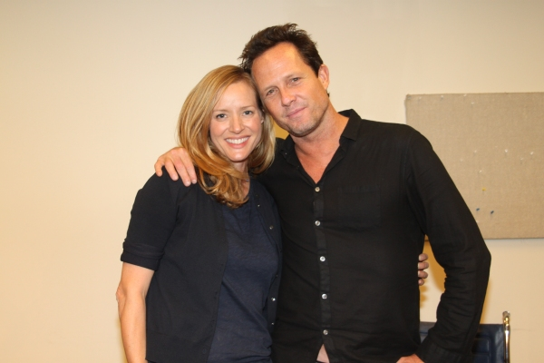 Kimberly Quinn and Dean Winters