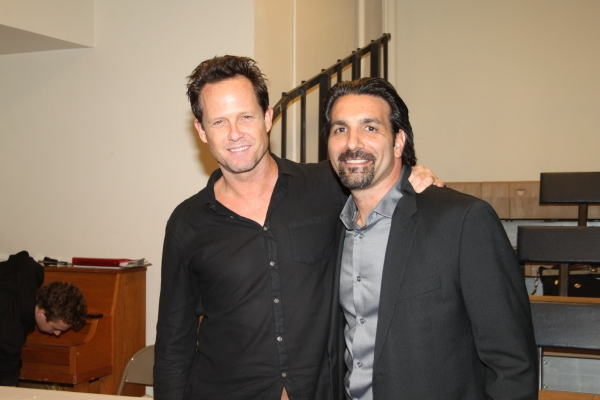 Dean Winters and Robert Nicotra