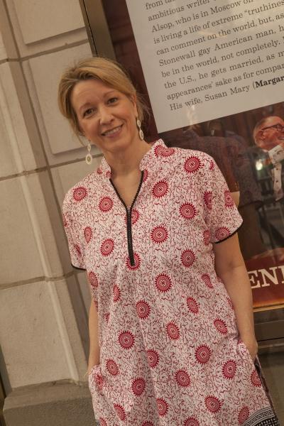 Linda Emond at Broadway's Best Honors Manhattan Theatre Club's Lynne Meadow