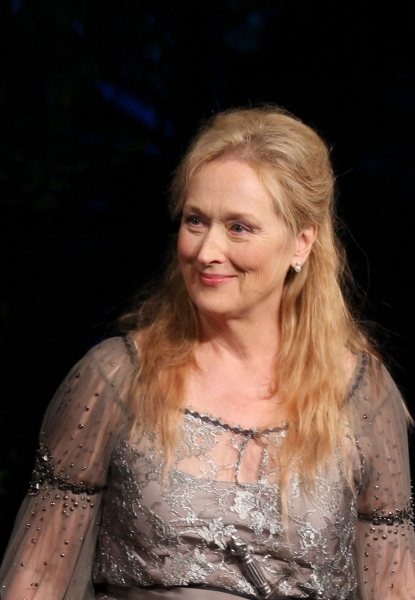Photo Coverage: Meryl Streep, Kevin Kline & Co. in ROMEO & JULIET Curtain Call in Central Park