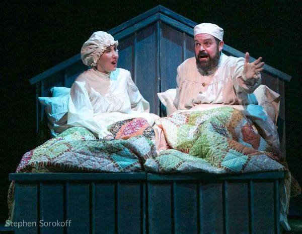 Joanna Glushak & Brad Oscar at Inside Opening Night of Barrington Stage's FIDDLER ON THE ROOF
