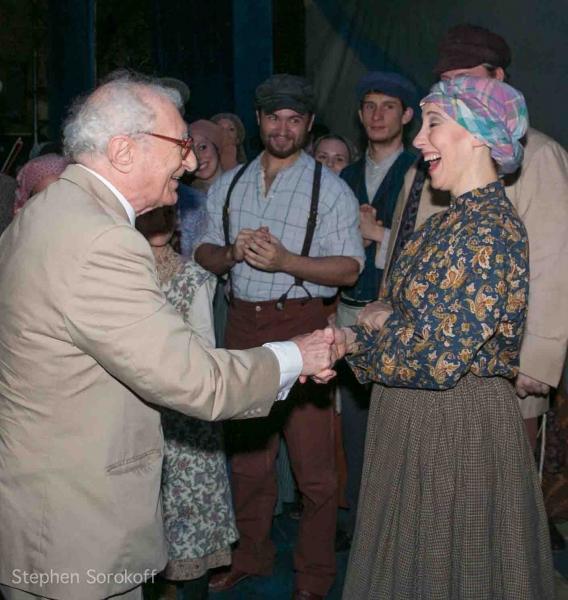 Sheldon Harnick & Joanna Glushak at Inside Opening Night of Barrington Stage's FIDDLER ON THE ROOF