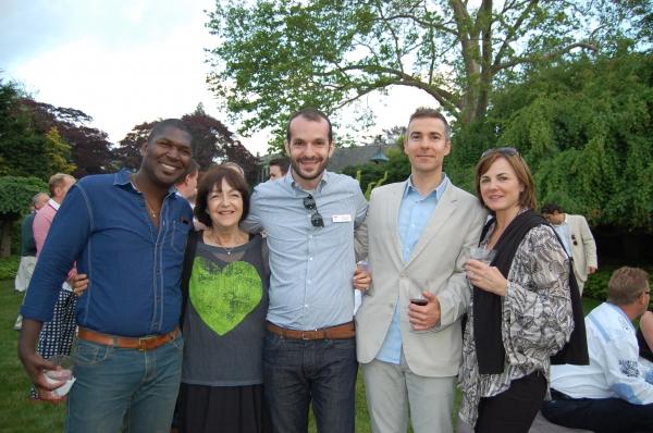Hewley Helstone, Donna Disend, Jonah Disend, David Ebershoff and Irka Golub Photo