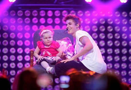 Justin Bieber & Avalanna Routh