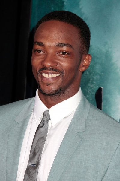 Anthony Mackie at Benjamin Walker & Tim Burton at the ABRAHAM LINCOLN: VAMPIRE HUNTER Premiere