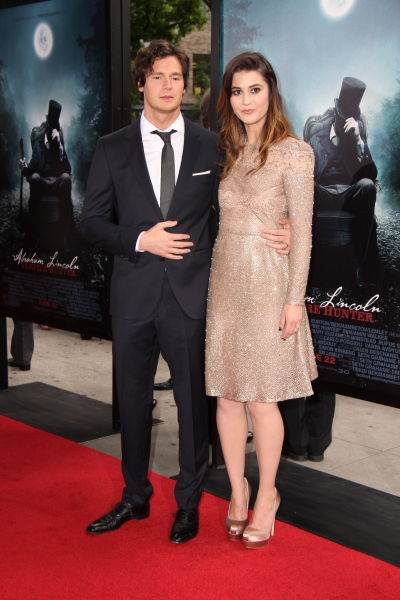 Photo Flash: Benjamin Walker & Tim Burton at the ABRAHAM LINCOLN: VAMPIRE HUNTER Premiere