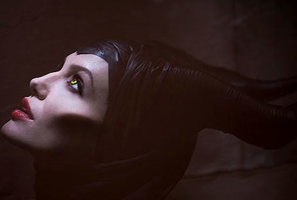 Angelina Jolie at First Look - Angelina Jolie as MALEFICENT