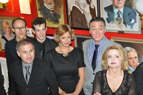 John Plumpis, Gibson Frazier, A.J. Shively, Marianne Tatum, Patrick Page and Alison Fraser at Patrick Page & More in Project Shaw's THE APPLE CART