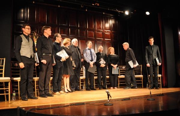 Scott Schafer, Jack Koenig, Gibson Frazier, Marianne Tatum, Jim Brochu, Patrick Page, Photo