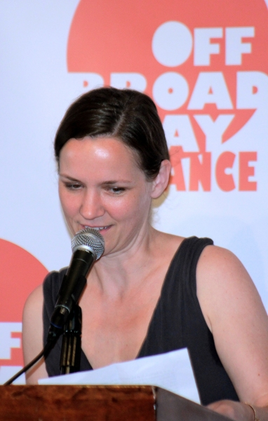 Andromache Chalfant at Off Broadway Alliance Honors the Best of the 2011-2012 Season