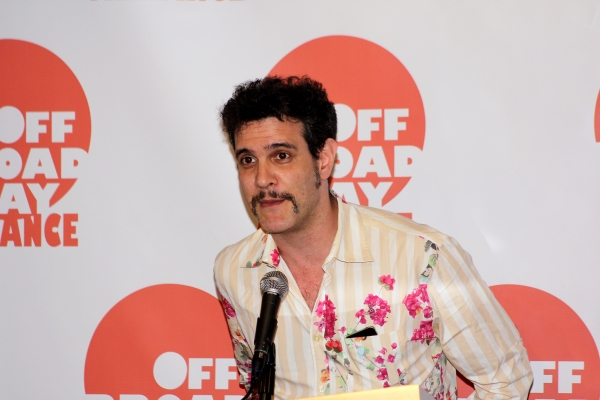 Adam Feldman at Off Broadway Alliance Honors the Best of the 2011-2012 Season