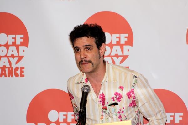 Adam Feldman at Off Broadway Alliance Honors the Best of the 2011-2012 Season