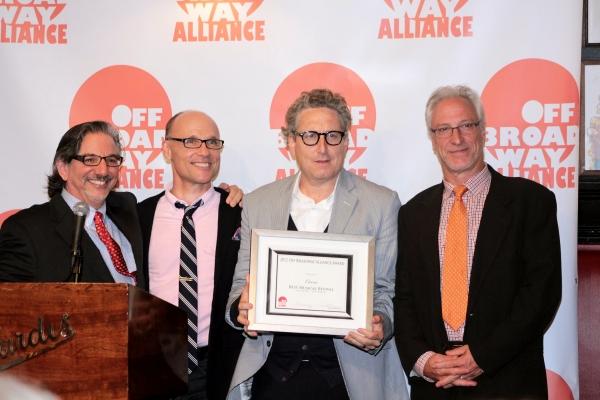 Peter Breger, William Cantler, Bernard Telsey, Robert LuPone Photo