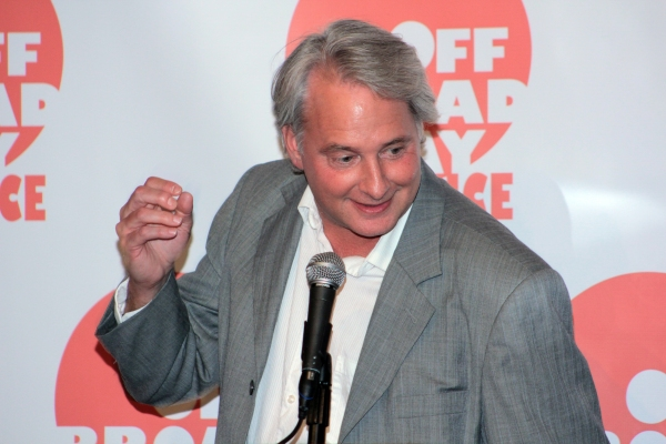 Scott Morfee at Off Broadway Alliance Honors the Best of the 2011-2012 Season