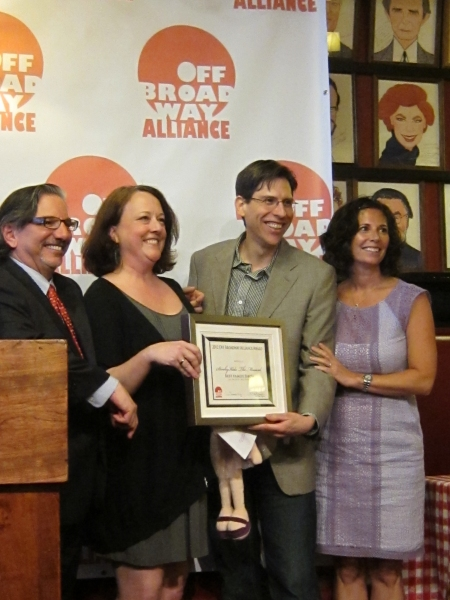 Photo Flash: Vital Theatre Company at the Off-Broadway Alliance Awards