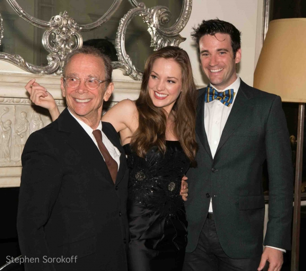 Joel Grey, Laura Osnes, Colin Donnell at Laura Osnes Makes Cabaret Debut at The Cafe Carlyle - Joel Grey, Colin Donnell & More!